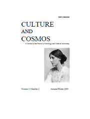 Culture and Cosmos Vol 13-2