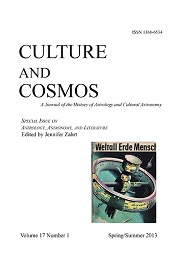 Culture and Cosmos Vol 17-1